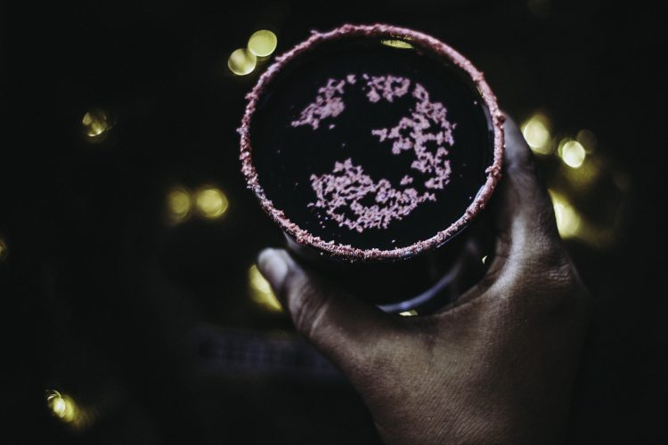 A Shimmering Cocktail For Halloween