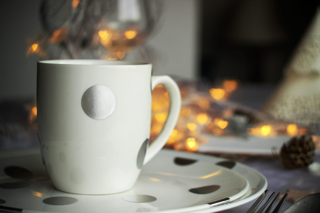 winter Wonderland - Bokeh Mug