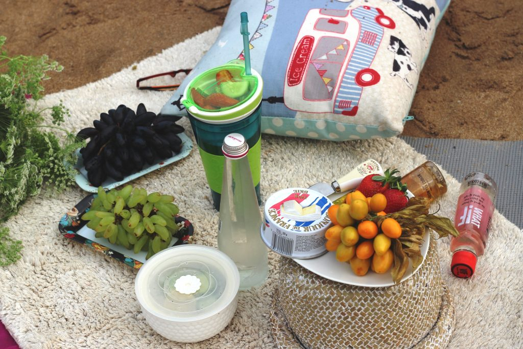 Beach Picnic Spread